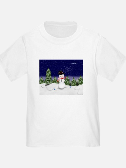 Snowman Scene (GC) T-Shirt