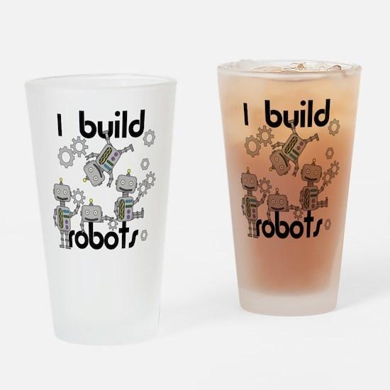 I Build Robots Drinking Glass