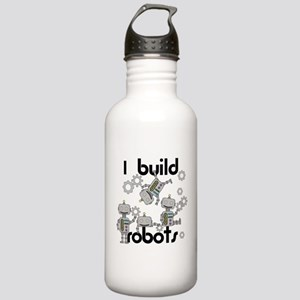 I Build Robots Stainless Water Bottle 1.0L