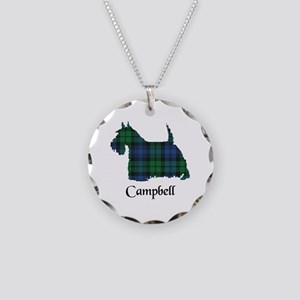 Terrier - Campbell Necklace Circle Charm