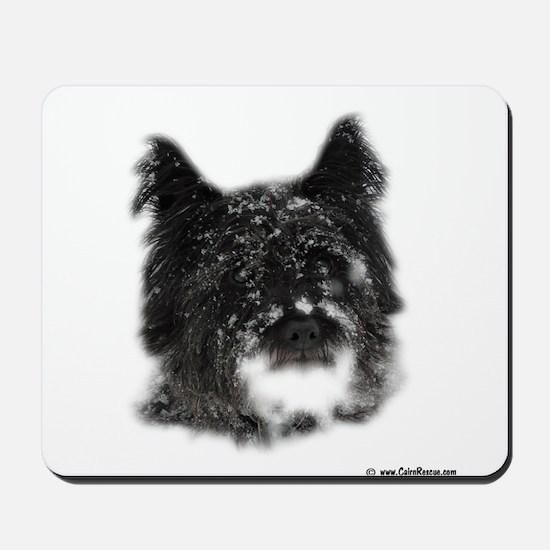 Snow Dog Mousepad