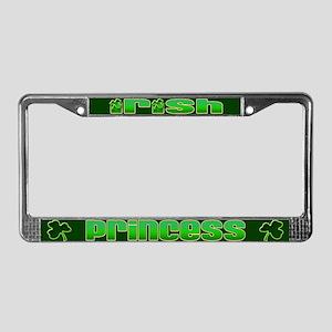 Irish Princess License Plate Frame