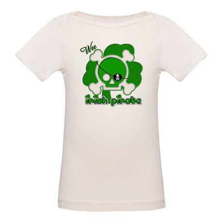 Wee Irish Pirate Organic Baby T-Shirt