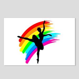 GRACEFUL DANCER Postcards (Package of 8)
