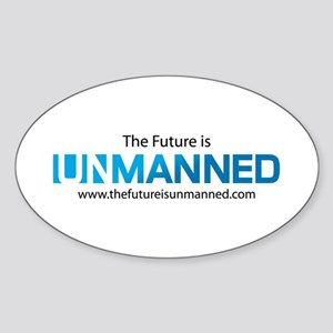 The Future is Unmanned Sticker