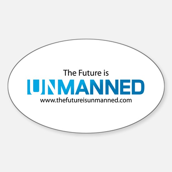 The Future is Unmanned Decal