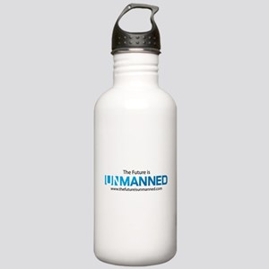 The Future is Unmanned Water Bottle