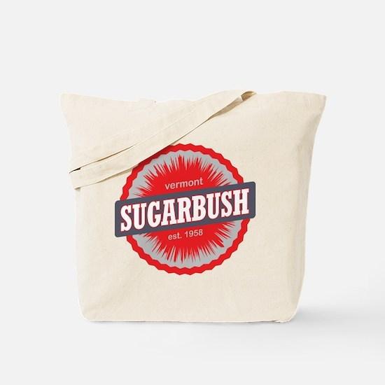 Sugarbush Resort Ski Resort Vermont Red Tote Bag