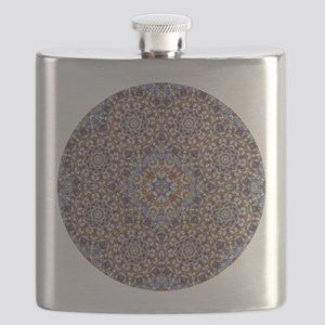 A multicolour Kaleidoscope Pattern Flask