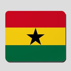 Flag of Ghana Mousepad