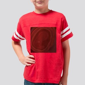 Heart of a Fetus Youth Football Shirt