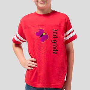 2nd-grade-butterfly Youth Football Shirt