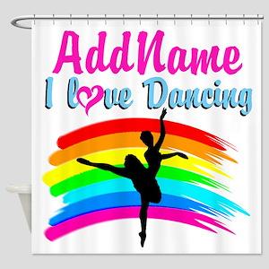 DANCING GIRL Shower Curtain