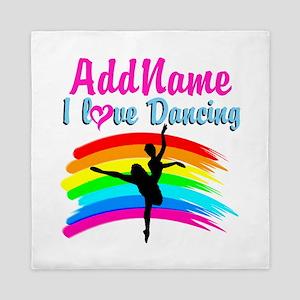 DANCING GIRL Queen Duvet