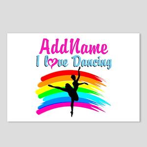 DANCING GIRL Postcards (Package of 8)