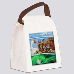 Free Range Pets Canvas Lunch Bag