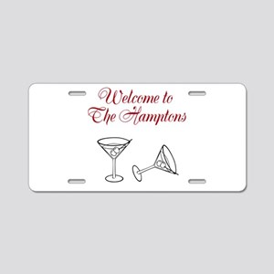 Welcome to the Hamptons Aluminum License Plate