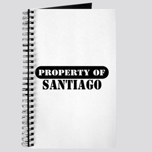 Property of Santiago Journal