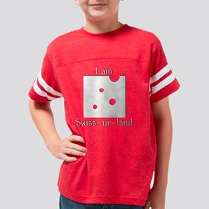 IamSwissurLand Youth Football Shirt