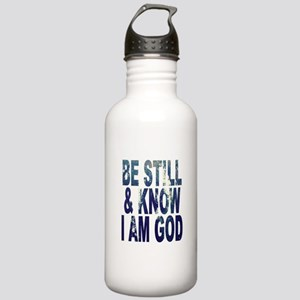 Be Still and Know I Am God Water Bottle