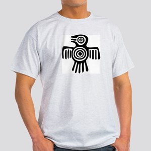 AbOriginalz Tribal Bird Ash Grey T-Shirt