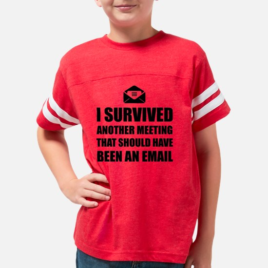 Meeting Email Youth Football Shirt