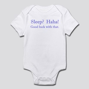 No Sleep Boy Infant Bodysuit