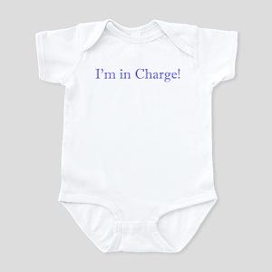 I'm in charge boy Infant Bodysuit