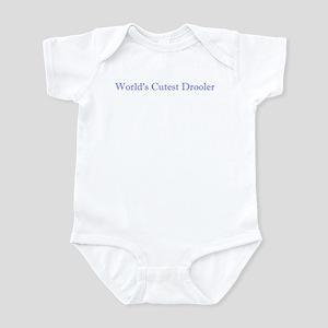 World's Cutest Drooler Infant Bodysuit