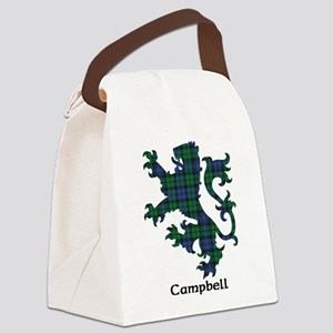 Lion - Campbell Canvas Lunch Bag