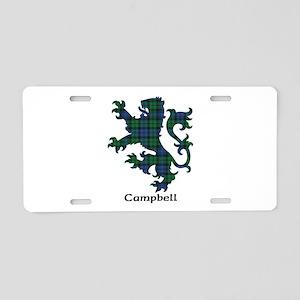 Lion - Campbell Aluminum License Plate