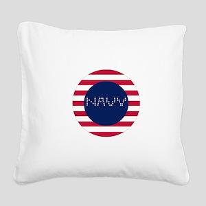 N-C Square Canvas Pillow