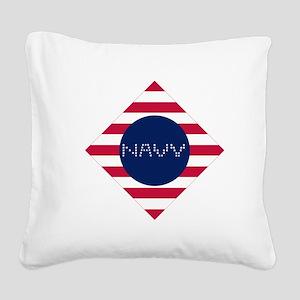 M-D Square Canvas Pillow