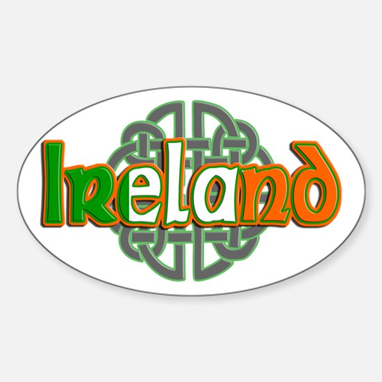 Ireland Sticker (Oval)