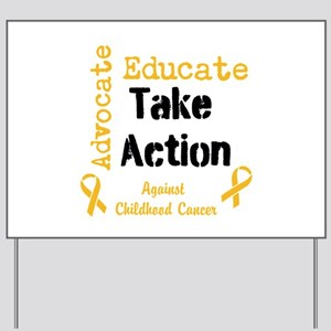 Take Action for the kids Yard Sign