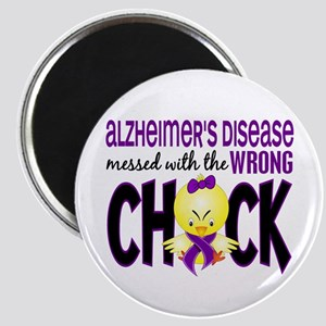 Alzheimer's Messed With Wrong Chick Magnet