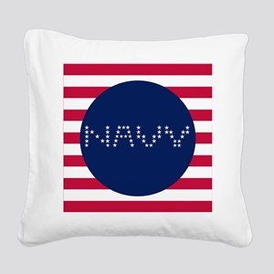 N-S Square Canvas Pillow