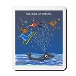 Have A Whale Of A Christmas Mousepad