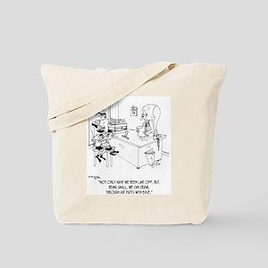 Elves Crawl Through Air Ducts Tote Bag