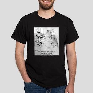Elves Crawl Through Air Ducts Dark T-Shirt