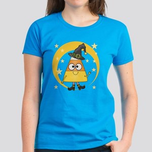 Candy Corn Witch Women's Dark T-Shirt