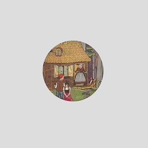 Vintage Hansel and Gretel Mini Button