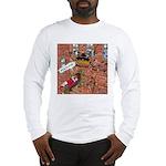 Santa's GPS Recalculating Long Sleeve T-Shirt