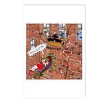 Santa's GPS Recalculating Postcards (Package of 8)