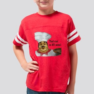 Not My Menu Youth Football Shirt