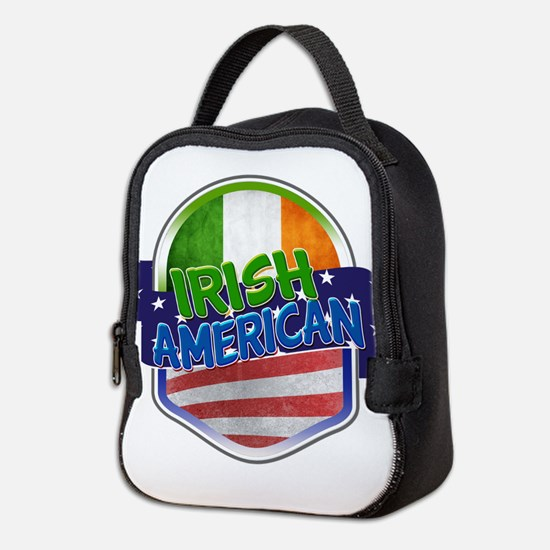 Irish American Neoprene Lunch Bag