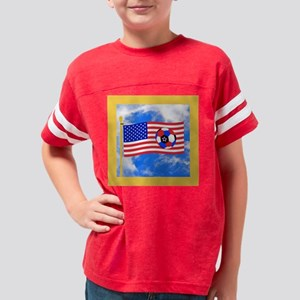 United States Soccer Flag Gif Youth Football Shirt
