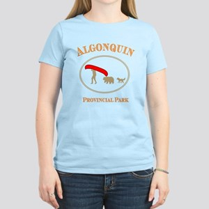 Alqonguin Park Canoe for Dark Backgrounds T-Shirt