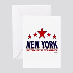 New York U.S.A. Greeting Card