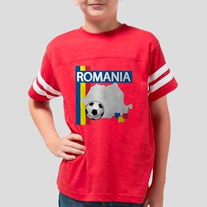 romania-soccer01 Youth Football Shirt